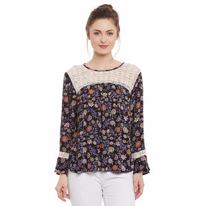 Multi Colour Full sleeve Top | Znx4ever.com