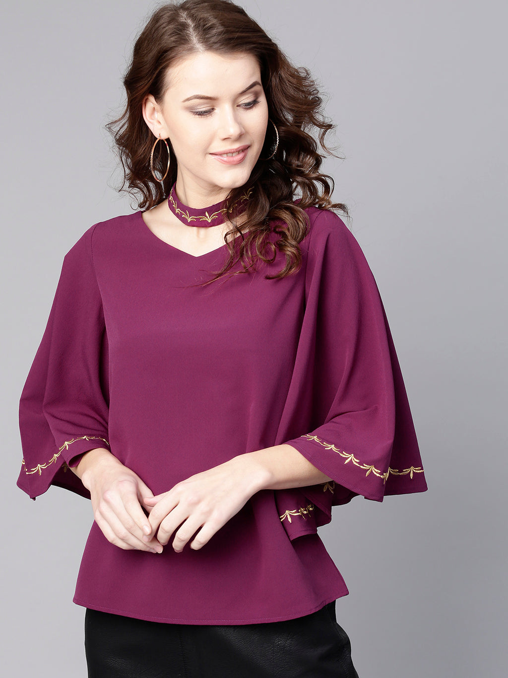 Purple Solid Top | Znx4ever.com