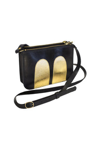 Mickey Handbag Black / Gold