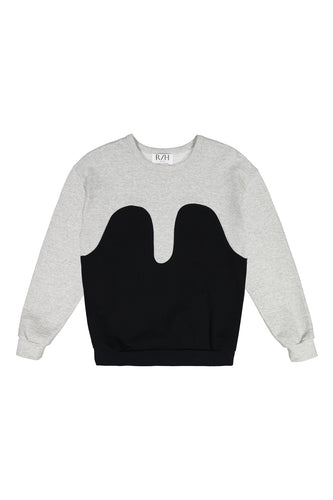 Magic Sweater Light Grey/Black