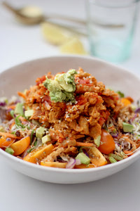 "Mexican Chopped ""Chicken"" Salad"