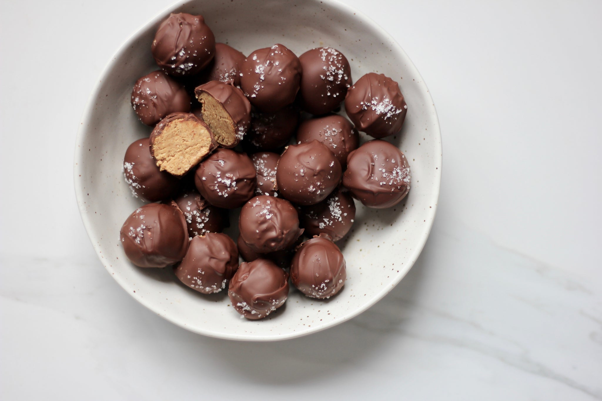 Salted Nut Butter Protein Bites