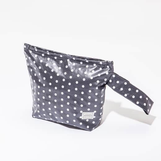 Trousse Anthracite à pois