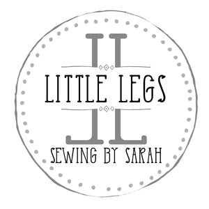 Little Legs Sewing by Sarah