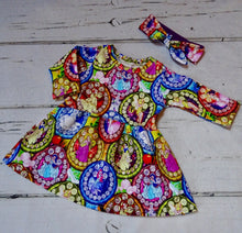 Twirl Dress- Choose your fabric/style