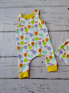 2nd Birthday Balloon Romper
