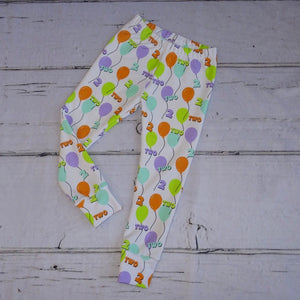 2nd Birthday Balloon Leggings/Harems