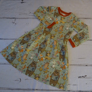 5/6 Woodland Tales Twirl Dress