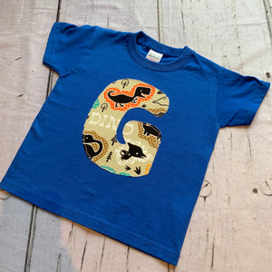 Initial or Number T Shirt