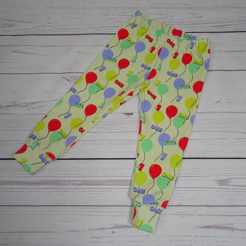 1st Birthday Balloon Leggings/Harems