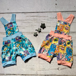 Short Dungarees-  Choose your fabric