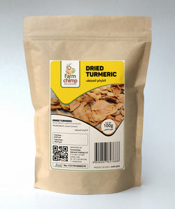 Dried Turmeric 100g