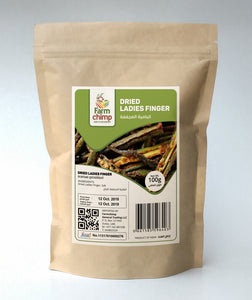 Dried Ladies Finger 100g