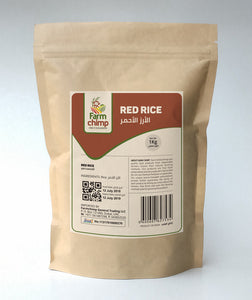 Raw Red Rice 1kg