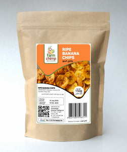 Ripe Banana Chips 150g