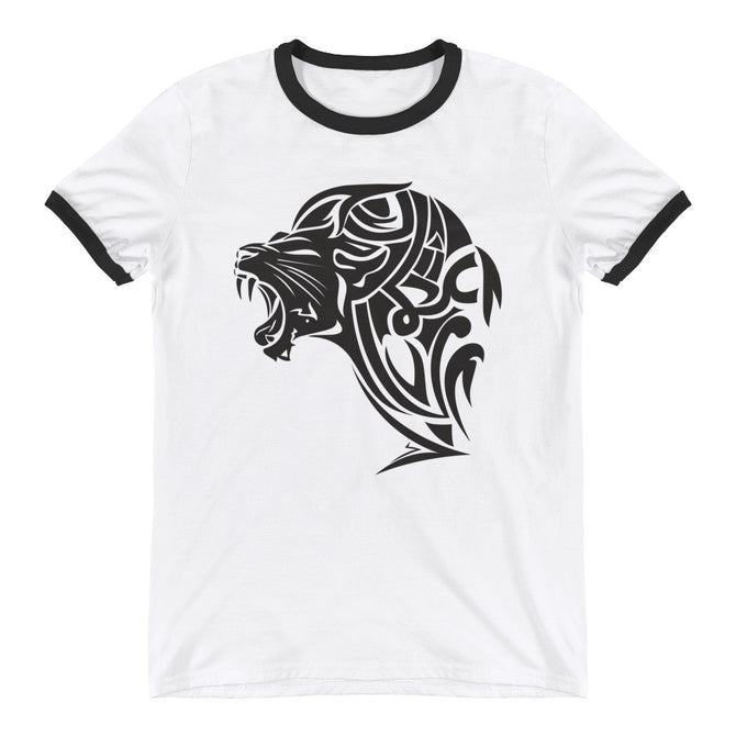 Ringer T-Shirt - White - Unfazed Tees