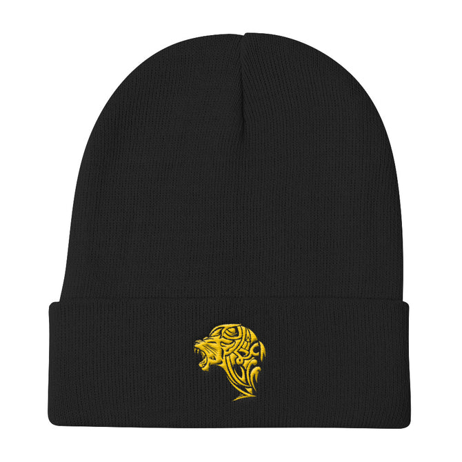 Lion Knit Beanie - Unfazed Tees