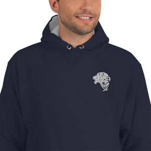 Champion Navy Lion Hoodie - Unfazed Tees