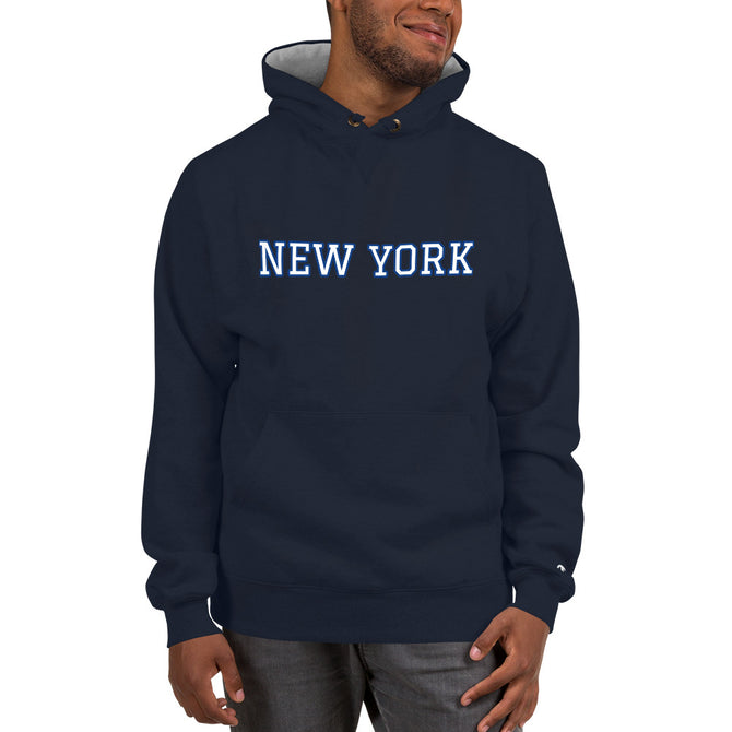 Champion New York Hoodie - Unfazed Tees