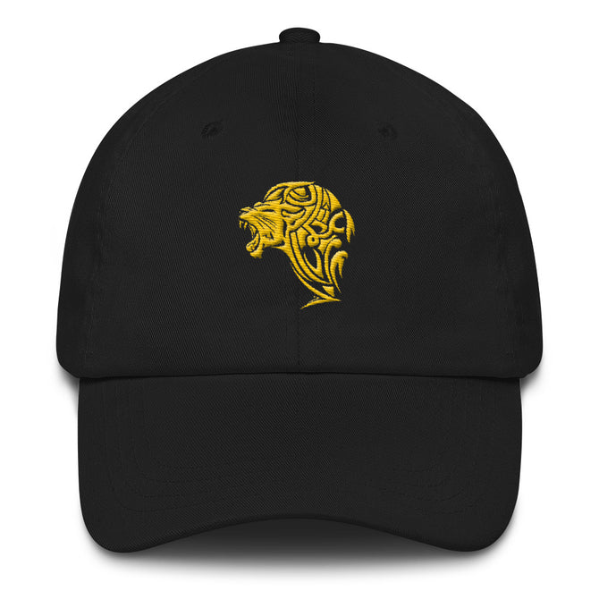 Embroidered Lion Dad hat - Unfazed Tees
