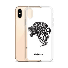 Load image into Gallery viewer, iPhone X/XS UnFazed Lion Case White - Unfazed Tees