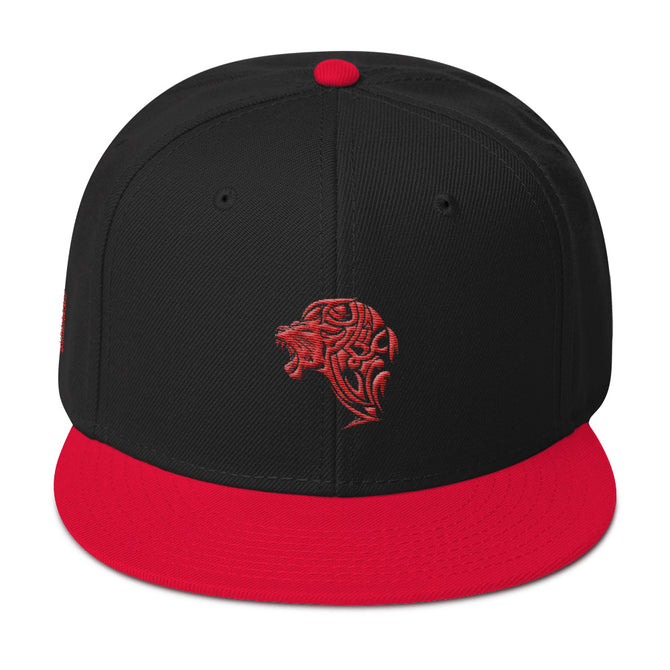 Red Lion Snapback Hat - Unfazed Tees