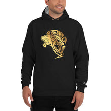 Load image into Gallery viewer, Champion Gold Lion Hoodie - Black - Unfazed Tees