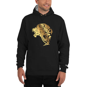 Champion Gold Lion Hoodie - Black - Unfazed Tees