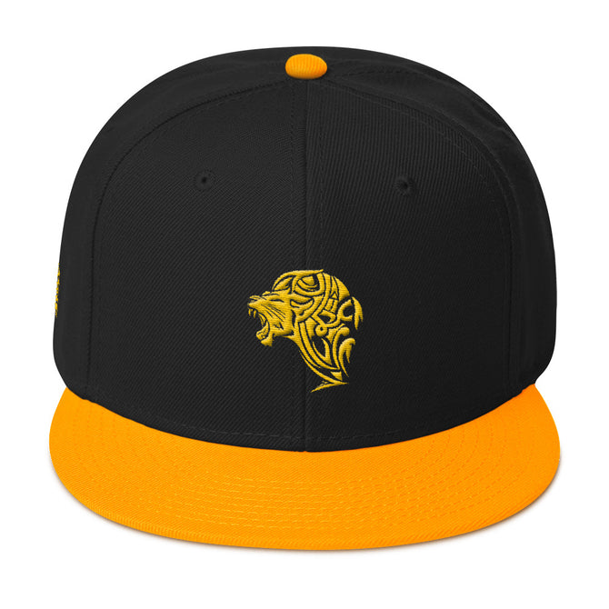Gold Lion Snapback Hat - Unfazed Tees