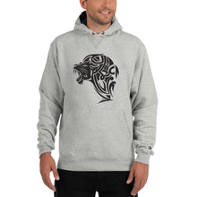 Load image into Gallery viewer, Champion Lion Hoodie - Light Steel - Unfazed Tees