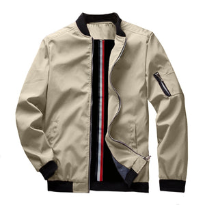 Spring New Men's Bomber Zipper Jacket - Unfazed Tees
