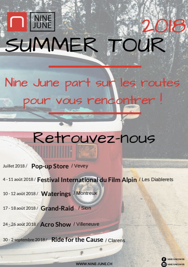 Nine June présente son Summer Tour 2018