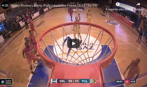 Vevey Riviera Lakers - Pully Lausanne Foxes en direct sur mysports.ch