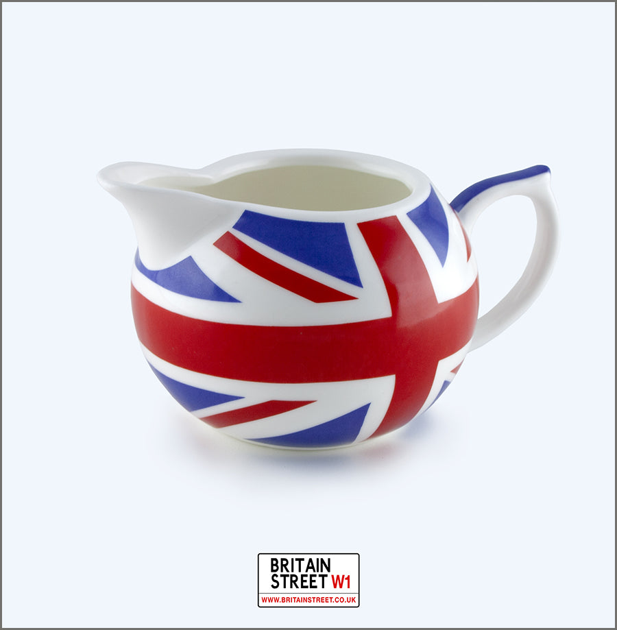 Handmade Union Jack Milk Jug - Britain Street