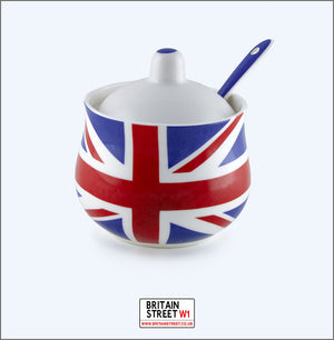 Handmade Union Jack Sugar Pot - Britain Street
