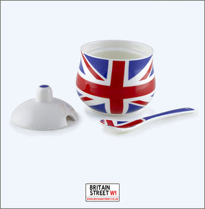 Handmade Union Jack Tea Set - Complete Set - Britain Street