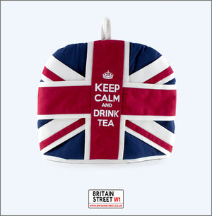 Handmade Union Jack Tea Cosy - Britain Street