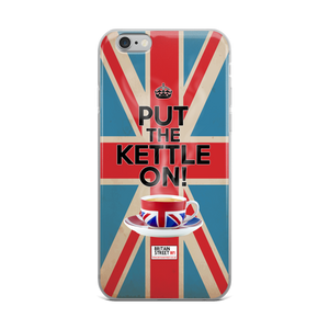 'Put The Kettle On!' iPhone Case - Britain Street
