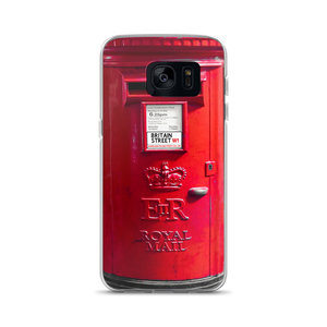 British Post Box - Samsung Case - Britain Street
