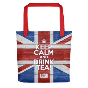 'Keep Calm and Drink Tea!' Tote bag (Design 02) - Britain Street