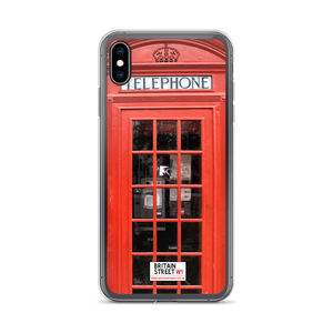 British Phone Box - iPhone Case - Britain Street