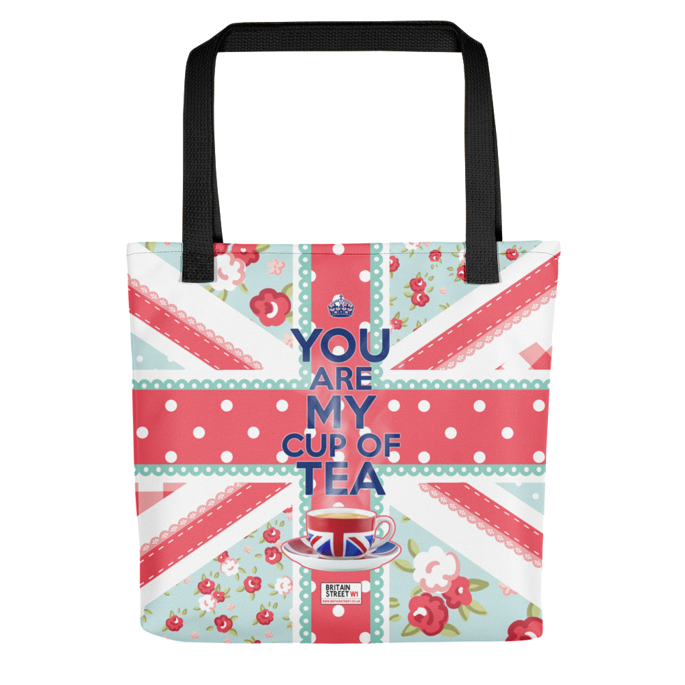 'You Are My Cup of Tea' Tote bag - Britain Street