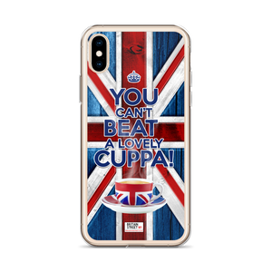 'You Can't beat A Lovely Cuppa!' iPhone Case - Britain Street