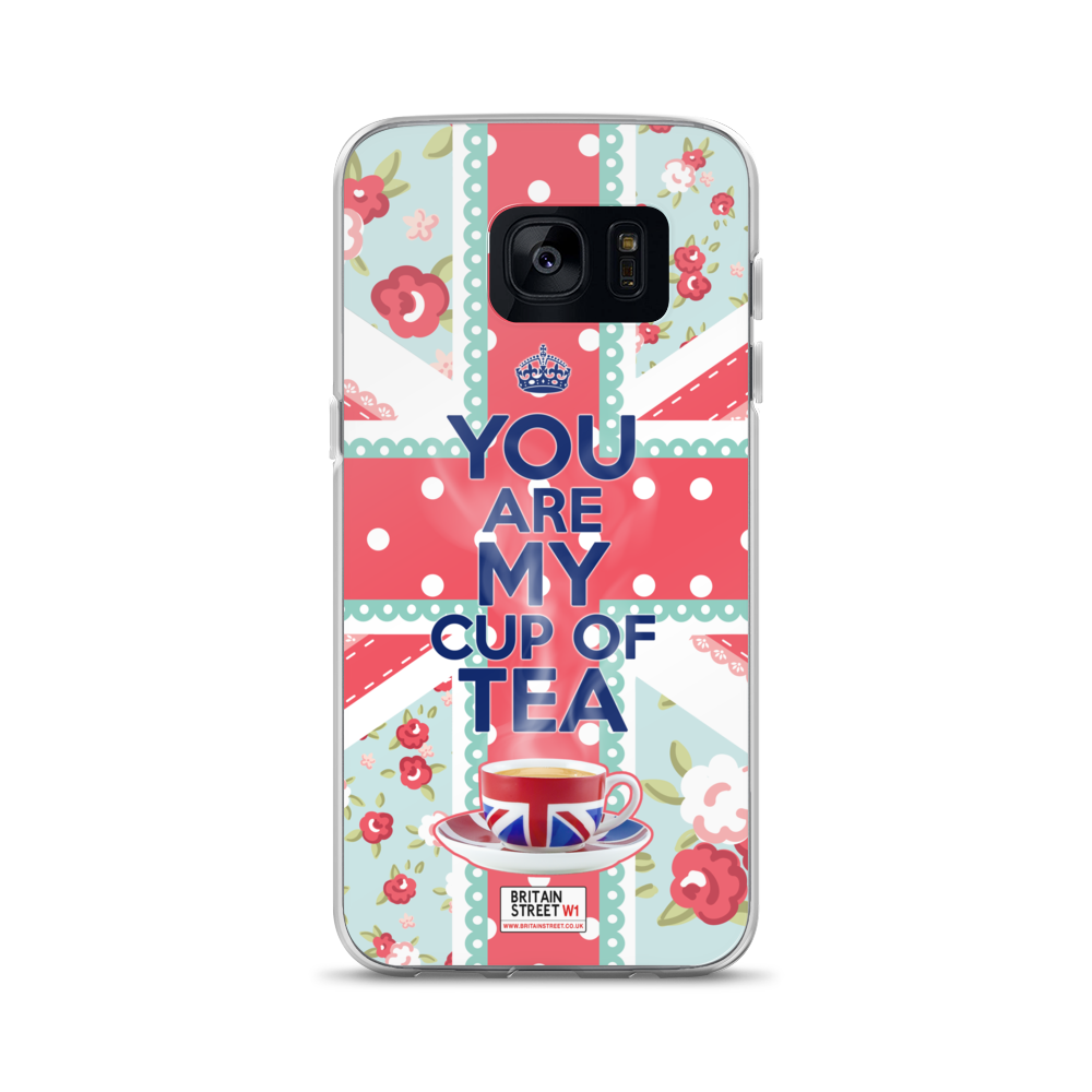 'You Are My Cup of Tea' Samsung Case - Britain Street