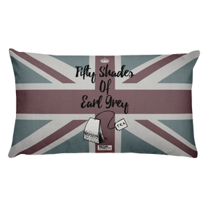 'Fifty Shades of Earl Grey' Throw Pillow - Britain Street