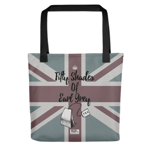 'Fifty Shades of Earl Grey' Tote bag - Britain Street
