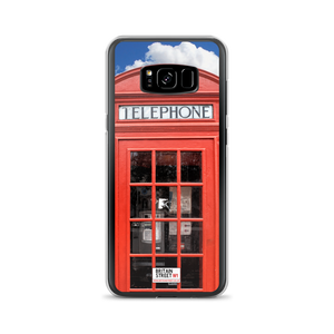 British Phone Box - Samsung Case - Britain Street