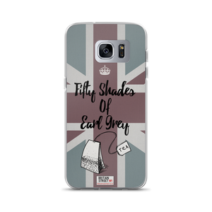 'Fifty Shades of Earl Grey' Samsung Case - Britain Street