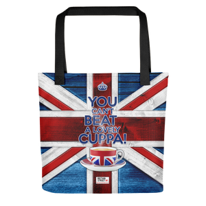 'You Can't Beat A Lovely Cuppa!' Tote bag - Britain Street
