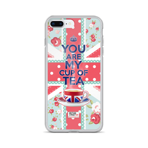 'You Are My Cup of Tea' iPhone Case - Britain Street